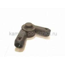 Шарнир ручки коляски круг-круг 16-16мм, арт. 001