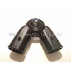 Шарнир ручки коляски овал-овал 20/30-20/30мм арт011