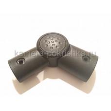 Шарнир ручки коляски овал-овал 20/30-26/36мм арт 014